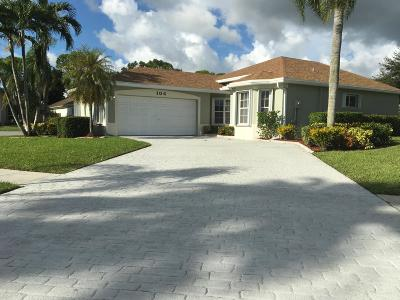 Royal Palm Beach Single Family Home Contingent: 104 Pimlico Way