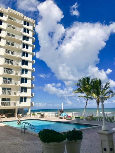 Highland Beach Condo For Sale: 3215 S Ocean Boulevard #708
