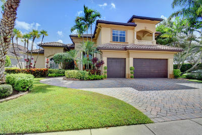 Boca Raton Single Family Home For Sale: 17726 Circle Pond Court