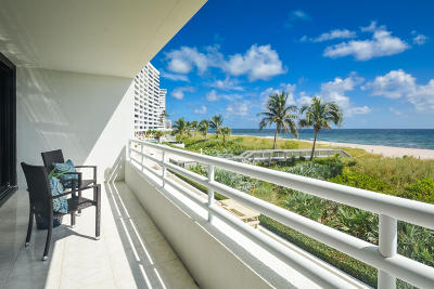 Addison On The Ocean, Addison On The Ocean In Boca Raton Condo Condo For Sale: 1500 S Ocean Boulevard #105