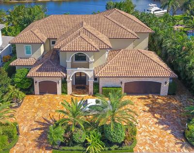 Palm Beach Gardens Single Family Home For Sale: 14062 Paradise Point Road