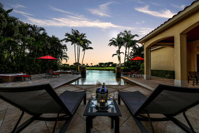 West Palm Beach Single Family Home For Sale: 7150 Winding Bay Lane