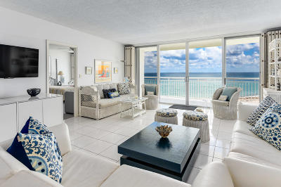 Palm Beach Condo For Sale: 2780 S Ocean Boulevard #603