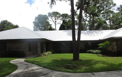 Port Saint Lucie Single Family Home For Sale: 7690 Wyldwood Way