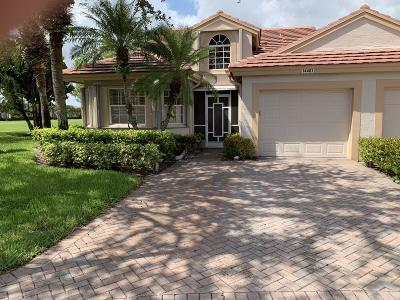 Delray Beach Single Family Home For Sale: 14481 Solitaire Drive