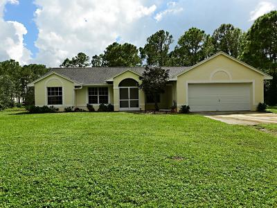 Loxahatchee Single Family Home For Sale: 17224 76th Street