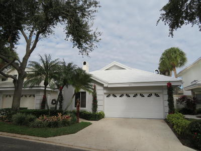 Palm Beach Gardens Single Family Home For Sale: 219 Canterbury Drive W