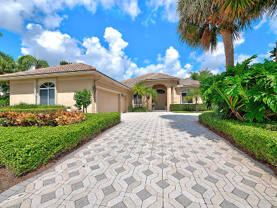 Palm Beach Gardens Single Family Home For Sale: 19 Bermuda Lake Drive