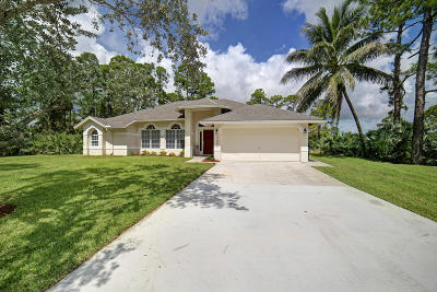 West Palm Beach Single Family Home Contingent: 13293 73rd Street