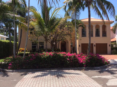 West Palm Beach Single Family Home For Sale: 218 Pershing Way