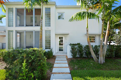 Delray Beach Townhouse For Sale: 702 SE 1st Street