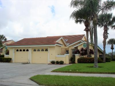 Palm City Single Family Home Contingent: 3727 SW Whispering Sound Drive