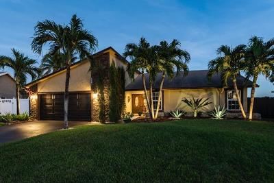 Boca Raton Single Family Home For Sale: 7450 San Clemente Place