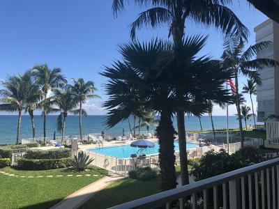 Highland Beach Rental Contingent: 3101 S Ocean Boulevard #218