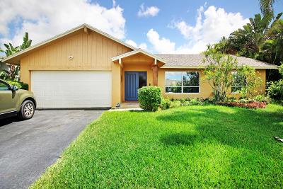 Boca Raton Single Family Home For Sale: 21652 Little Bear Lane