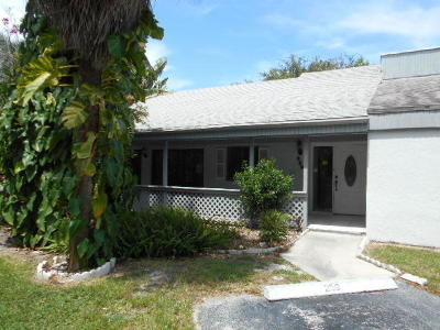 Boca Raton Townhouse For Sale: 259 NW 15th Street