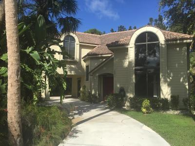 Hobe Sound Single Family Home For Sale: 12201 SE Heckler Drive