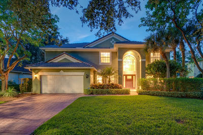 Jupiter Single Family Home For Sale: 457 Oriole Circle