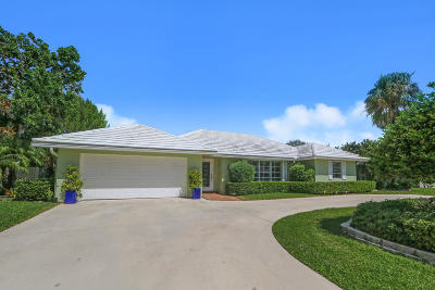 West Palm Beach Single Family Home For Sale: 1865 Mediterranean Road W