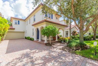 Palm Beach Gardens Single Family Home For Sale: 617 Castle Drive