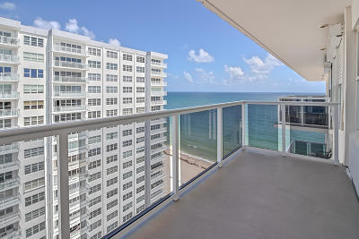Fort Lauderdale Condo For Sale: 3700 Galt Ocean Drive #1703