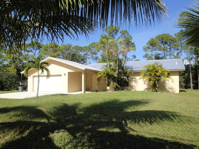Loxahatchee Single Family Home For Sale: 17203 40th Run