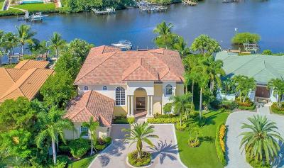 Jupiter Single Family Home Contingent: 19008 SE Windward Island Lane