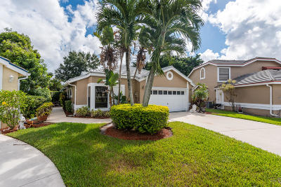 Lake Worth, Lakeworth Single Family Home For Sale: 8079 Covington Court