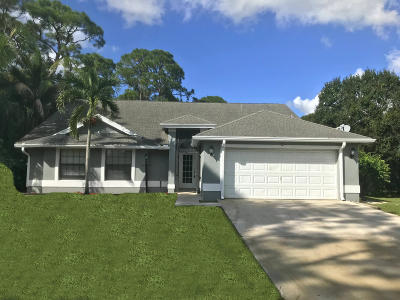 Loxahatchee Single Family Home For Sale: 14239 Orange Boulevard