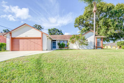 Port Saint Lucie Single Family Home For Sale: 1401 SW Sudder Avenue