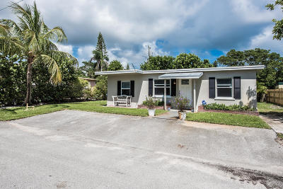North Palm Beach Single Family Home For Sale: 1811 Redbank Road