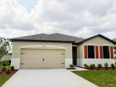 Saint Lucie County Single Family Home For Sale