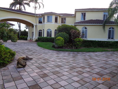 Weston Single Family Home For Sale: 3853 Pine Lake Drive