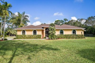 West Palm Beach Single Family Home For Sale: 6965 Pioneer Road