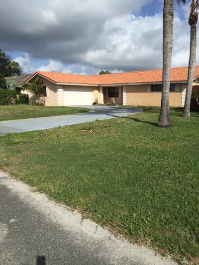 Palm Beach Gardens Single Family Home For Sale: 4373 Hawthorn Avenue