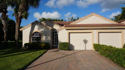 Delray Beach Single Family Home For Sale: 14251 Ruby Pointe Drive