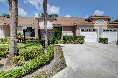 Boca Raton Single Family Home For Sale: 8371 Sunmeadow Lane #G
