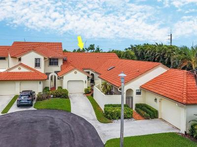 Boynton Beach Single Family Home Contingent: 8320 Waterline Drive #105