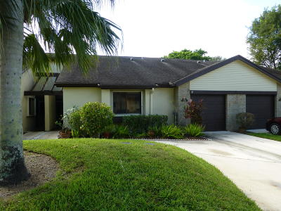 Royal Palm Beach Single Family Home For Sale: 208 Meander Circle