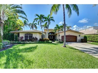 Boca Raton Single Family Home For Sale: 749 Bamboo Drive