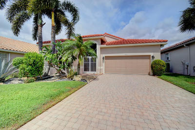 boynton beach Single Family Home For Sale: 7271 Toscane Court