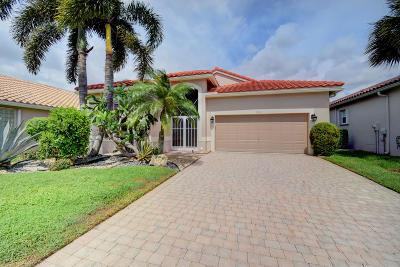 Boynton Beach Single Family Home For Sale: 7271 Toscane Court