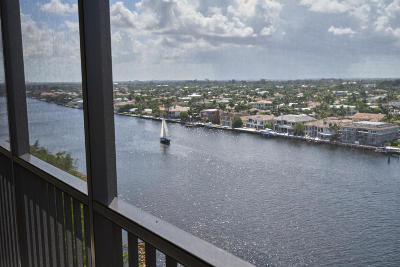 Coronado, Coronado At Boca Raton, Coronado At Highland Beach, Coronado At Highland Beach Cond, Coronado At Highland Beach Condo, Coronado Condo- Tower Ii Condo For Sale: 3420 S Ocean Boulevard #14x
