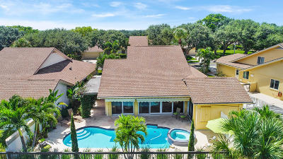 Jupiter Single Family Home For Sale: 317 Ridge Road