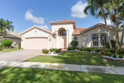 Delray Beach Single Family Home For Sale: 13473 Barcelona Lake Circle