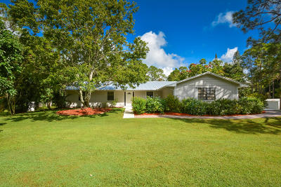 Jupiter Single Family Home Contingent: 12265 169th Court