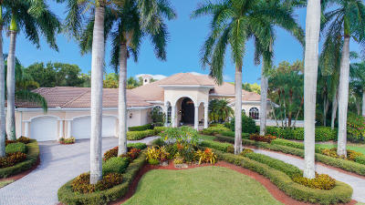 West Palm Beach Single Family Home For Sale: 1822 Breakers West Court