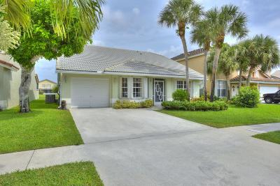Boca Raton Single Family Home For Sale: 18031 Clear Brook Circle