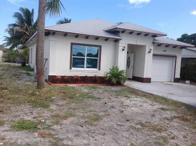 Boynton Beach Single Family Home Contingent: 429 NW 10th Avenue
