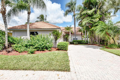 Delray Beach Single Family Home Contingent: 5554 Grande Palm Circle